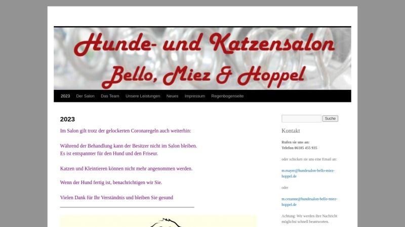 www.monis-hundepflege.de Vorschau, Moni`s Hundepflege