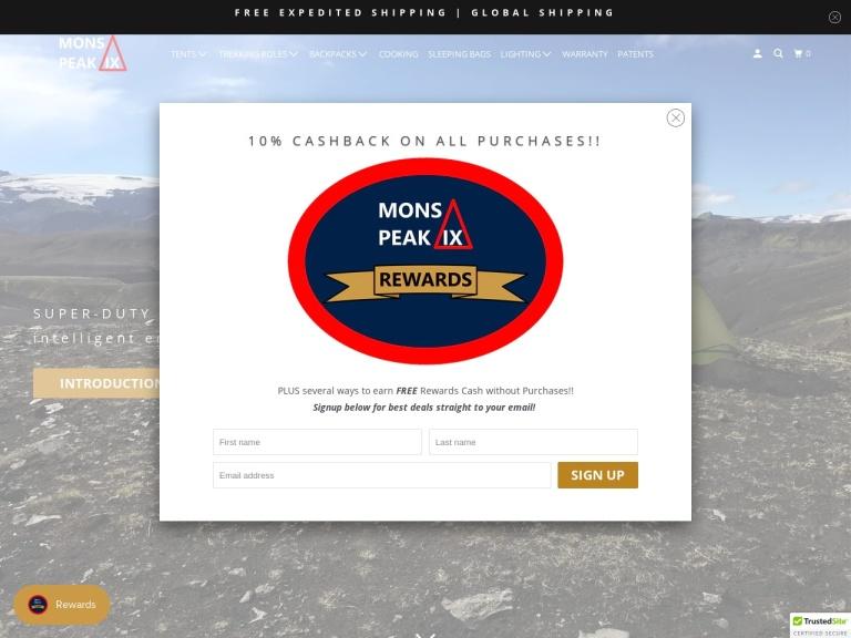 Mons Peak IX screenshot
