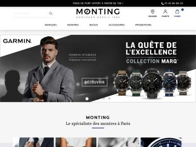 Monting, les montres depuis 1982