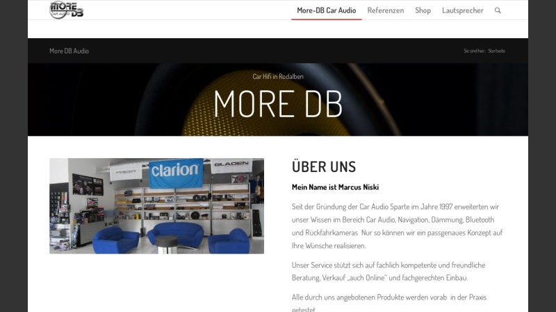 www.more-db.de Vorschau, More-dB Car Audio, Christa Niski