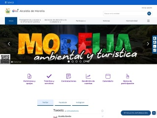 Captura de pantalla para morelia-caqueta.gov.co