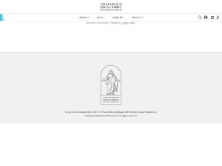 Captura de pantalla para mormones.org.gt