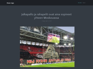 Screenshot for mosseliiga.ee