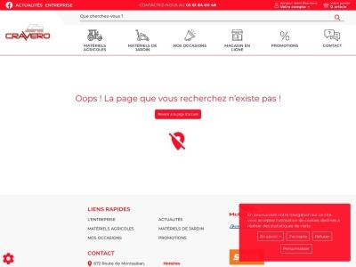 Matériel agricole - Cravero Motoculture