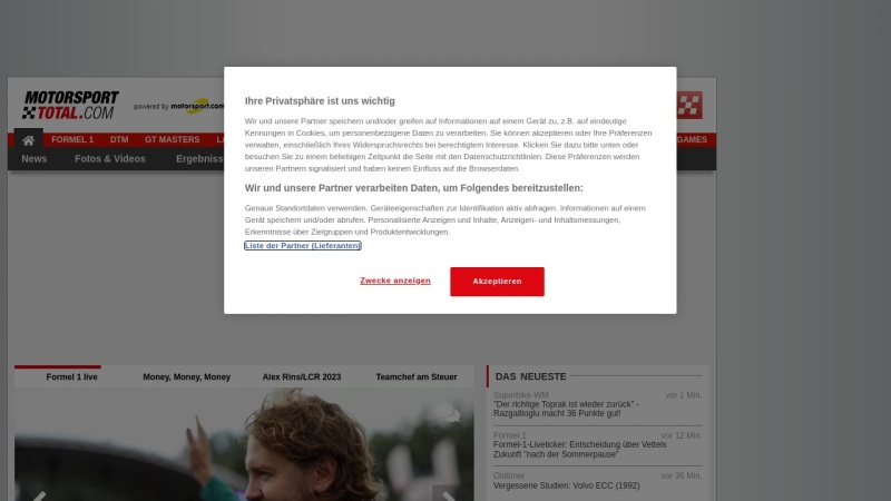 www.motorsport-total.com Vorschau, Motorsport Total
