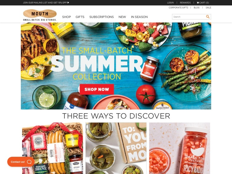 Mouth - Indie Foods & Tasty Gifts screenshot