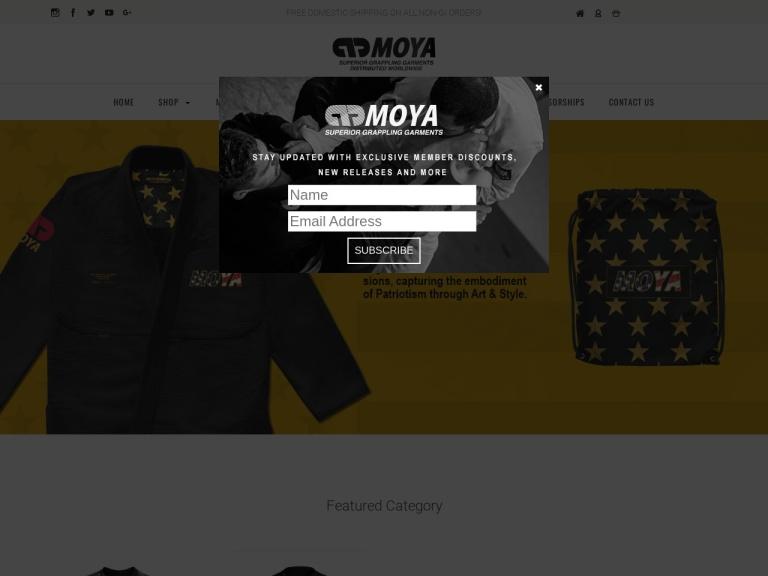 Moya Brand screenshot