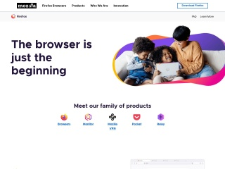 Screenshot for mozilla.com