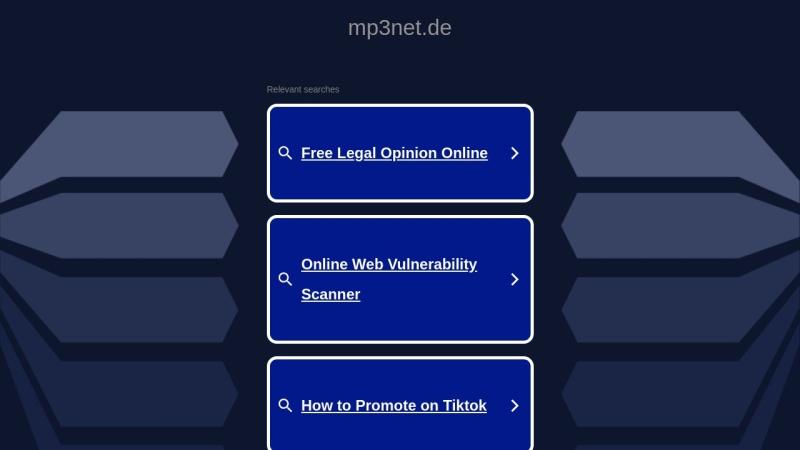 www.mp3net.de Vorschau, MP3net - MP3-Musik-Verzeichnis