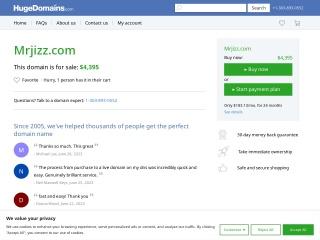 screenshot mrjizz.com