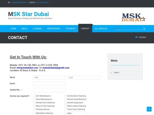 Deep Cleaning Company In Dubai