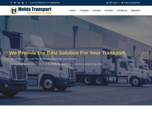 Best transportation services to india