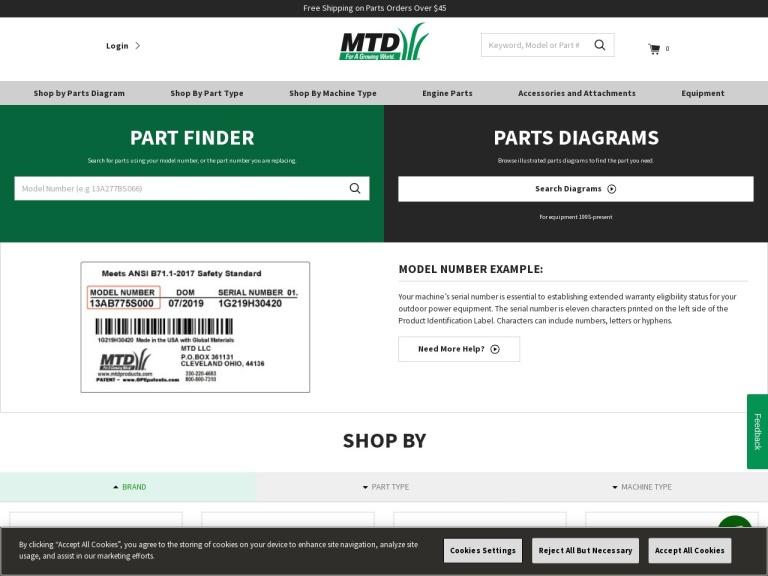 MTD screenshot