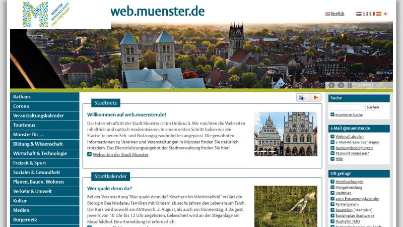 www.muenster.de Vorschau, Mit Jeans in die Steinzeit