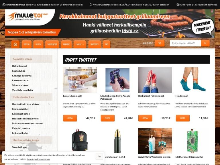 Mulletoi.com screenshot