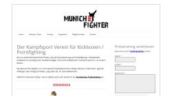 www.munich-pro-fighter.de Vorschau, Munich-Pro-Fighter e.V.