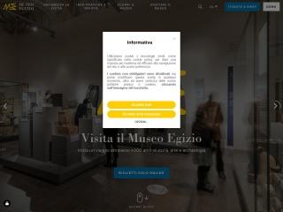 screenshot museoegizio.org