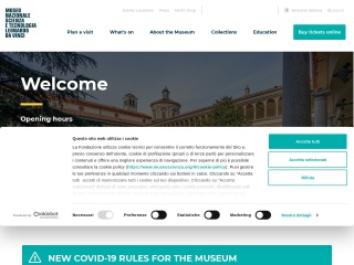 screenshot museoscienza.org