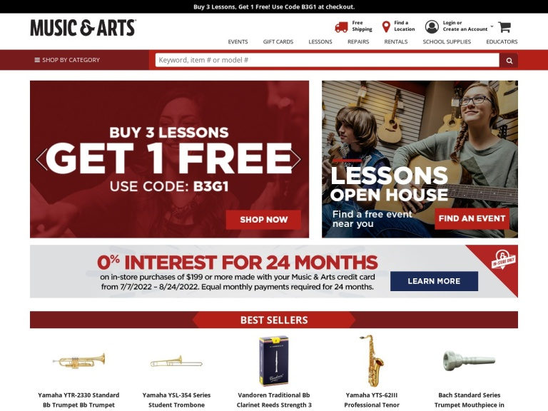 Music & Arts screenshot