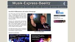 www.musik-express-beelitz.de Vorschau, Musik-Express-Beelitz