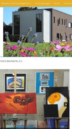Vorschau der mobilen Webseite www.musikschule-baunatal.de, Musikschule Baunatal