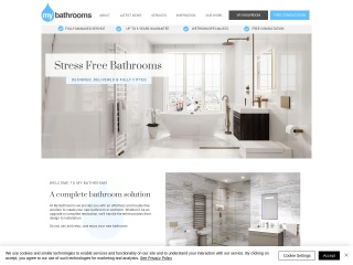 Screenshot for my-bathrooms.co.uk