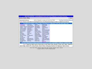 Screenshot bagi mycen.com.my