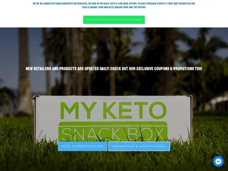 My Keto Snack Box LLC screenshot