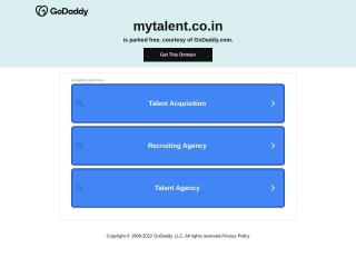 Screenshot for mytalent.co.in