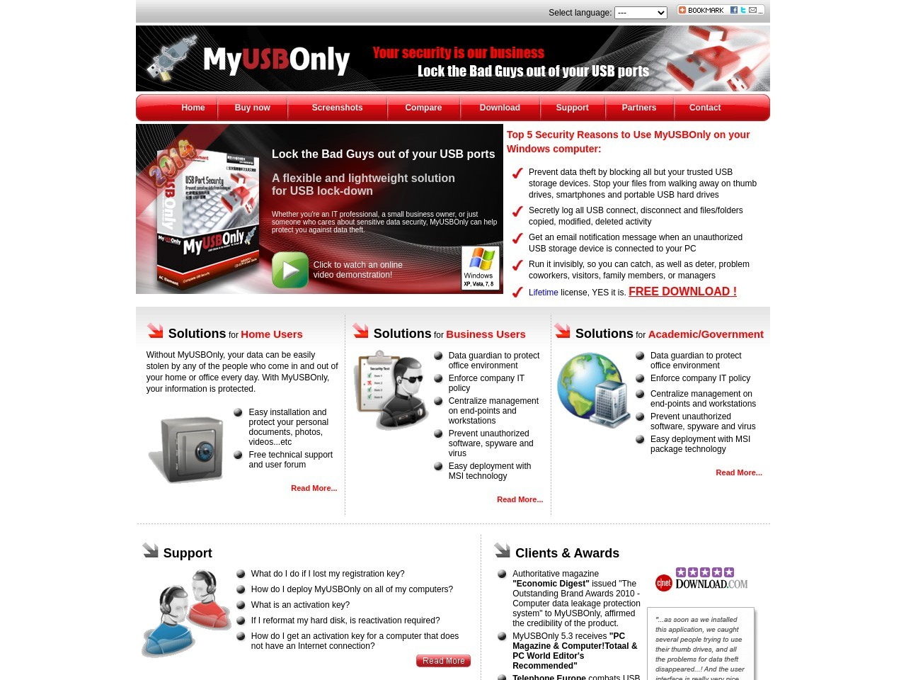 MyUSBOnly Virtual Appliance Edition