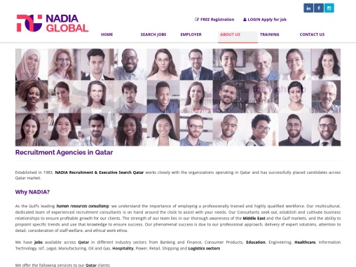 Executive Search Firm in Qatar | NADIA Recruitment
