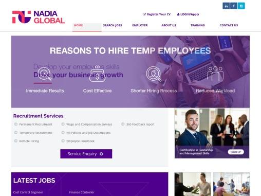 Executive Search Firm in Dubai, Abu Dhabi, Sharjah | NADIA Recruitment