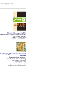 Vorschau der mobilen Webseite www.nadir.org, off limits