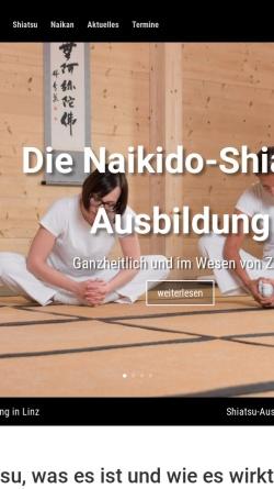Vorschau der mobilen Webseite www.naikido.at, Naikido-Shiatsu Schule Wien