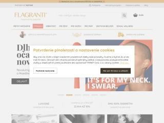Screenshot stránky najlacnejsisexshop.sk