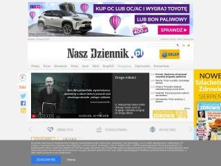 Zrzut ekranu strony naszdziennik.pl