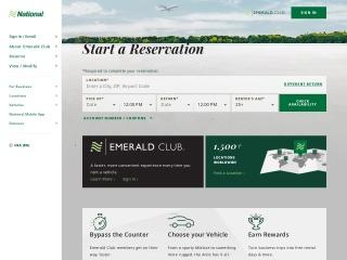 screenshot nationalcar.com