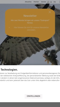 Vorschau der mobilen Webseite www.nationalpark-mueritz.de, Nationalpark Müritz
