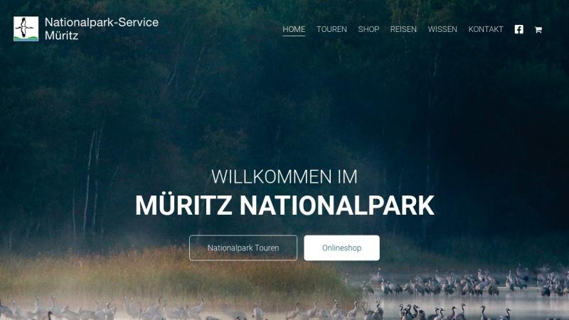 www.nationalpark-service.de Vorschau, Nationalpark-Service Müritz Axel Schultz