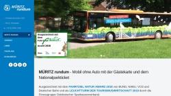 www.nationalparkticket.de Vorschau, Müritz Nationalpark-Ticket