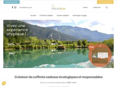 Naturabox.com : coffrets cadeaux écologiques