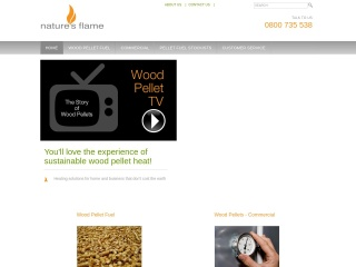 Screenshot for naturesflame.co.nz