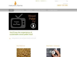 Screenshot for naturesflame.co.nz
