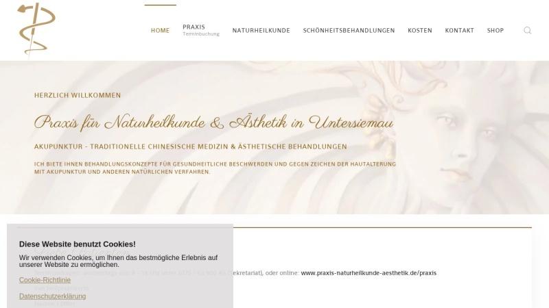 www.naturheilkunde-loeffler.de Vorschau, Praxis für Naturheilkunde & Ästhetik Nadine Löffler