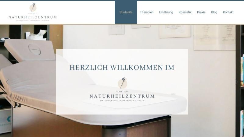 www.naturheilzentrum-schnitzler.de Vorschau, Naturheilzentrum Schnitzler