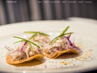Captura de pantalla para nautilus.com.mx