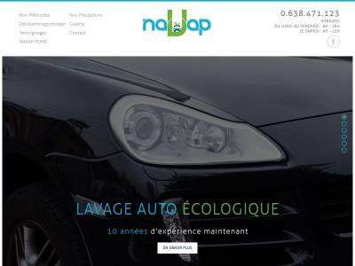 naVap : nettoyage écologique de voiture