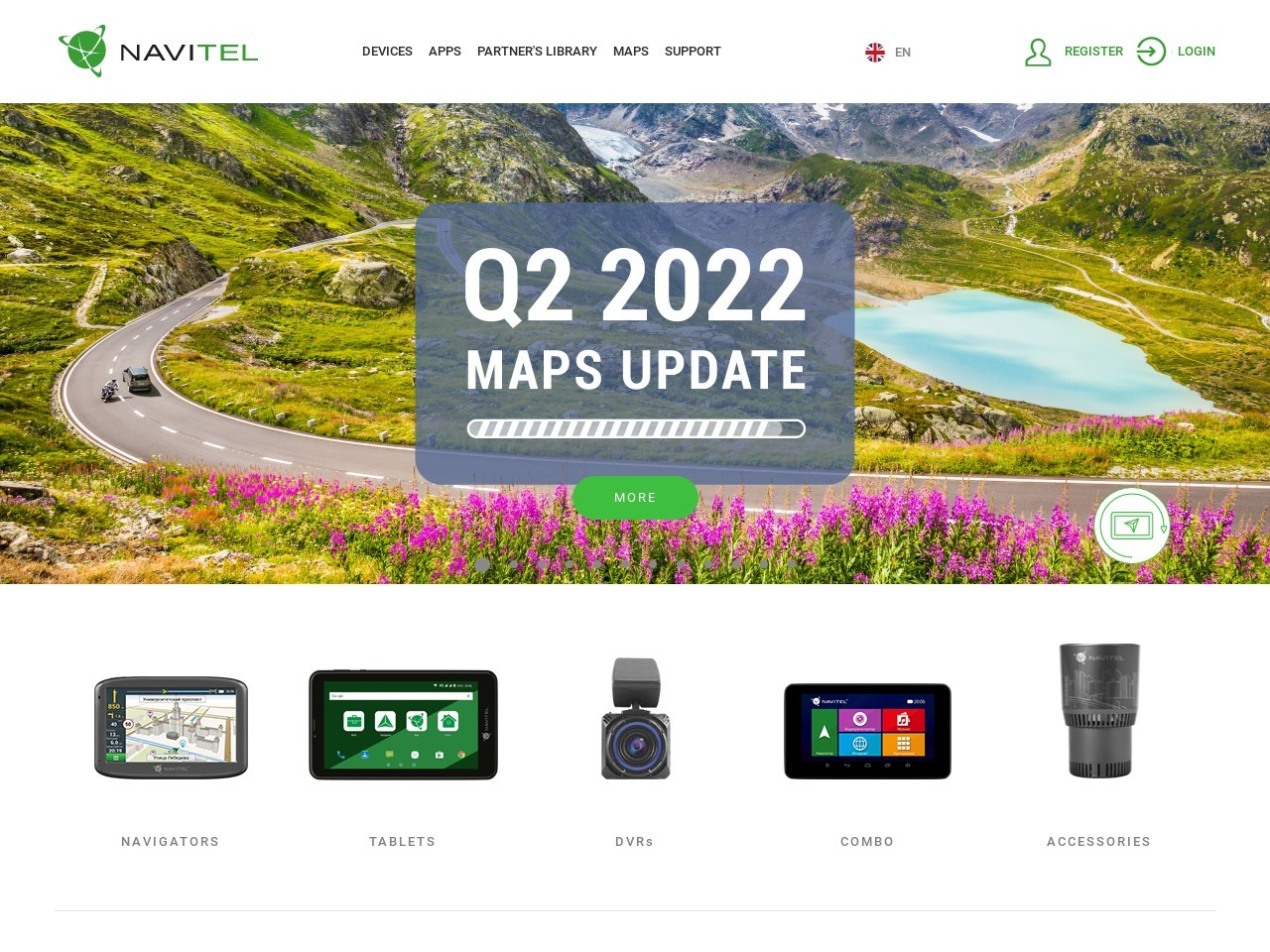 Navitel Navigator. Colombia Coupon
