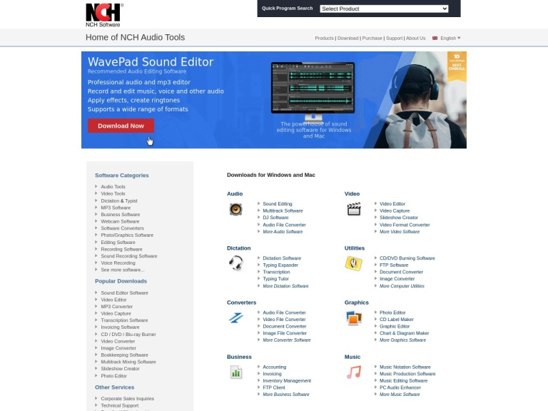 Nch Software Coupon Codes & Promo codes