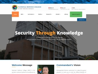 ndc.gov.bd-এর স্ক্রীণশট